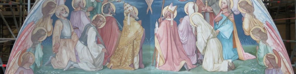 Restauratie schildering Jan Oosterman - Kathedraal St. Bavo