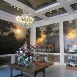 Martenahuis Franeker geschilderd ensemble wandschilderingen